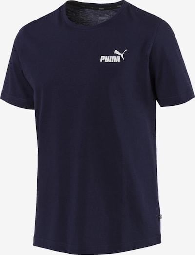PUMA T-Shirt 'Essentials Small Logo' in ultramarinblau / weiß, Produktansicht