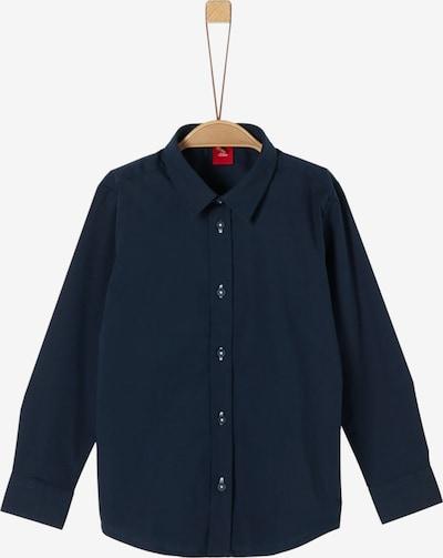 s.Oliver Junior Hemd in enzian, Produktansicht