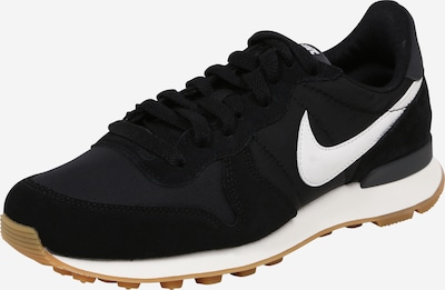 Nike Sportswear Zemie apavi 'Internationalist' melns / balts, Preces skats