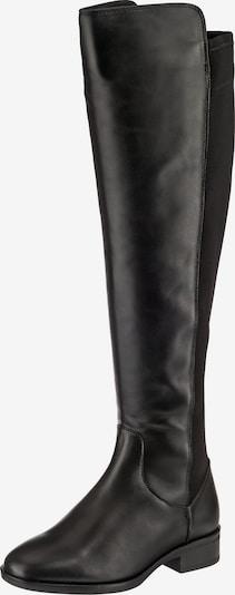 CLARKS Stiefel 'Pure Caddy' in schwarz: Frontalansicht
