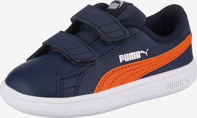 PUMA Sneaker 'Smash v2' in nachtblau / orange / weiß, Produktansicht