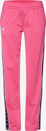 KAPPA Hose 'Elvira' in pink / schwarz: Frontalansicht