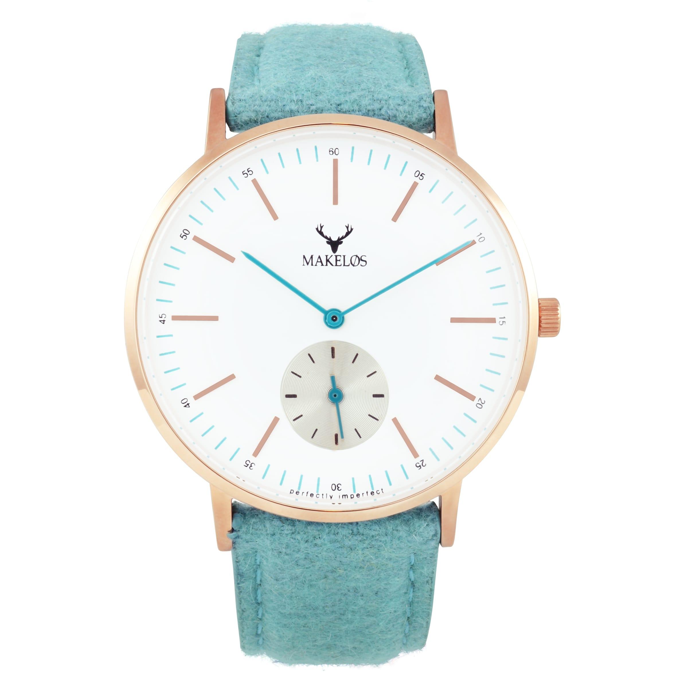 MAKELØS Armbanduhr 'RØD MYNTE' mit Filzarmband Billiges Countdown-Paket Erstaunlicher Preis Zu Verkaufen Verkauf Erhalten Zu Kaufen TdjHPkMU1P