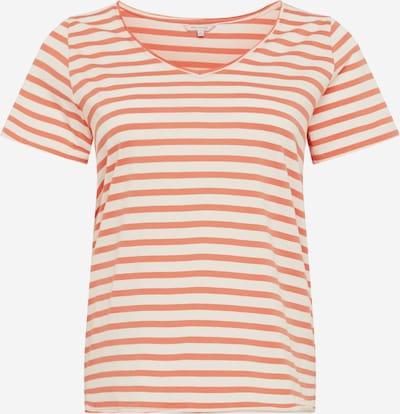 ONLY Carmakoma T-shirt 'Carlife Life' en crème / rose, Vue avec produit
