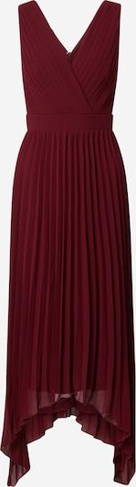 TFNC Kleid 'TATUM HI-LO' in burgunder, Produktansicht