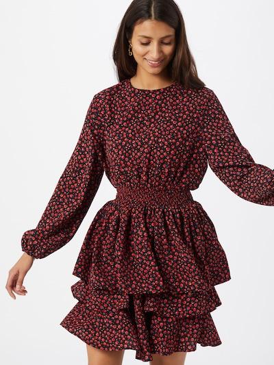 ONLY Kleit 'Tessa' helesinine / punane / must, Modellivaade