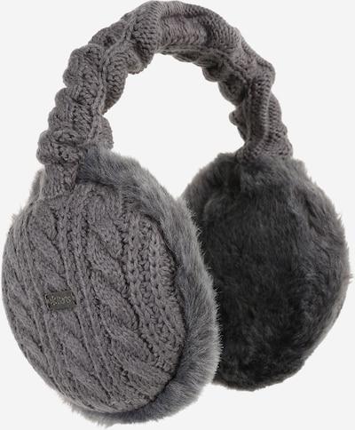 Barts Cache-oreilles 'Monique' en gris foncé, Vue avec produit