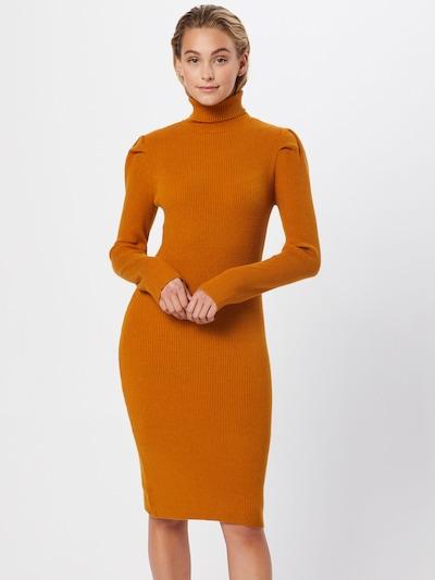 OBJECT Kleid 'THESSA' in dunkelorange, Modelansicht