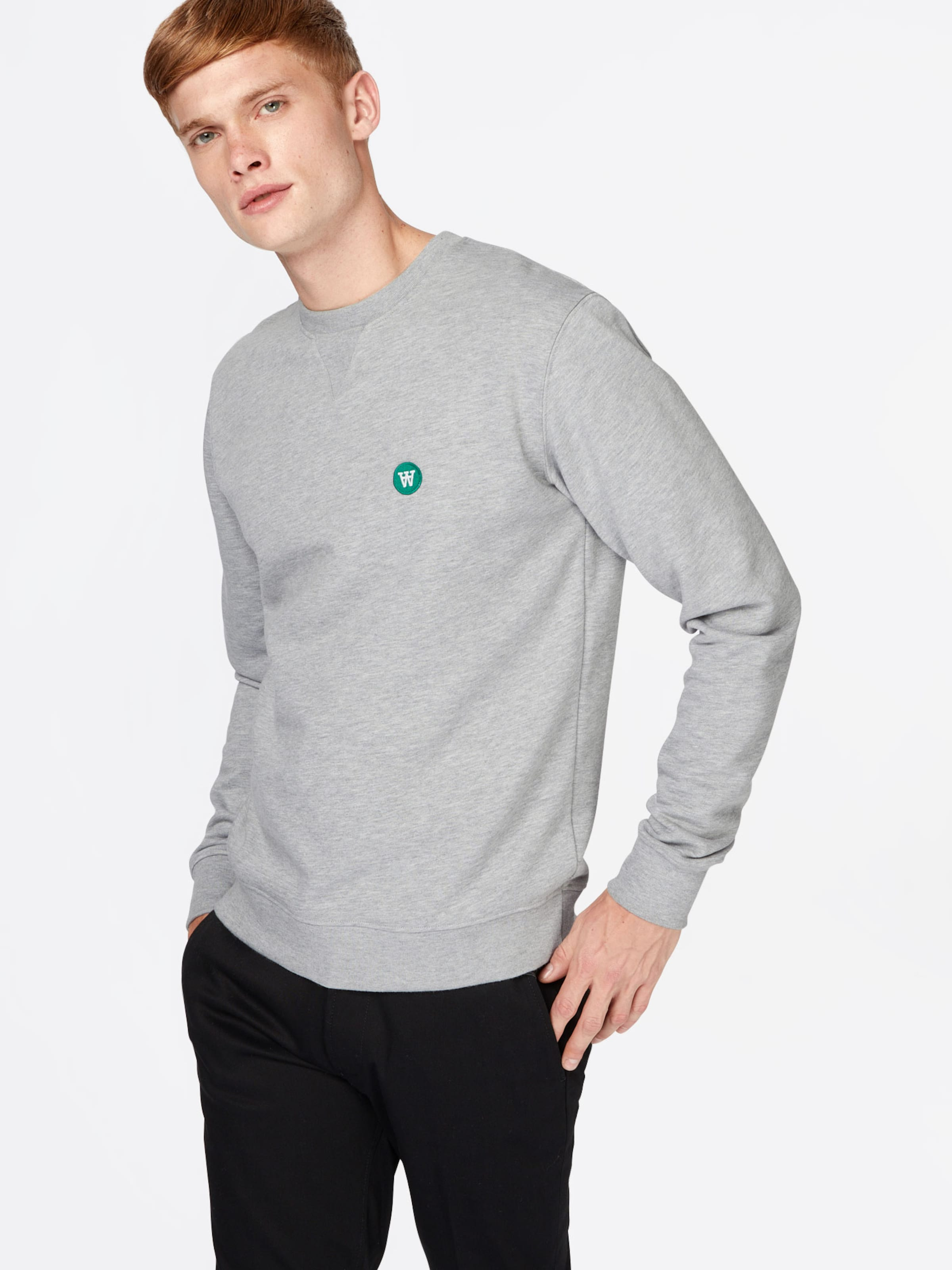 Wood GrauDunkelgrün Wood Sweatshirt In Sweatshirt In vNn0wy8mO