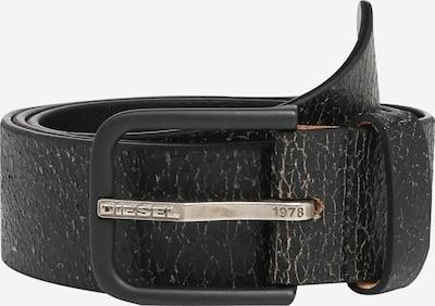 DIESEL Pasek 'B-Real' w kolorze czarny / srebrnym, Podgląd produktu