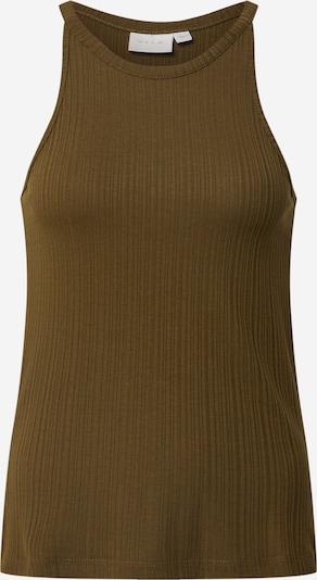 VILA Top 'Athalia' in de kleur Olijfgroen, Productweergave