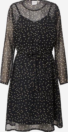 ICHI Kleid 'Ihbetty' in beige / schwarz, Produktansicht