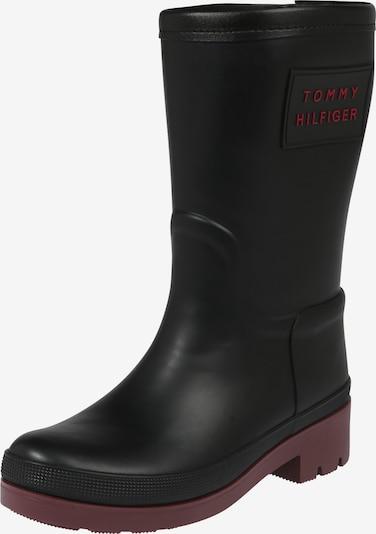 TOMMY HILFIGER Stiefel 'WARMLINED RAINBOOT' in schwarz, Produktansicht