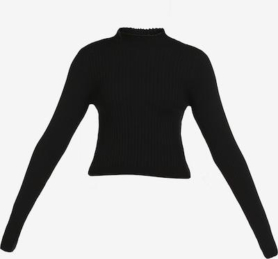 myMo ATHLSR Pullover in schwarz, Produktansicht
