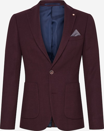 BURTON MENSWEAR LONDON Colbert 'BURG TEXT PIQUE BLZR' in de kleur Bourgogne, Productweergave