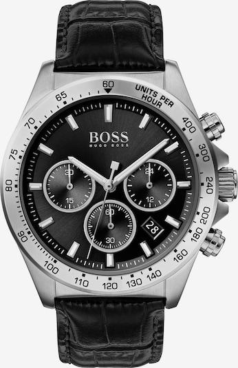 BOSS Uhr in schwarz / silber, Produktansicht