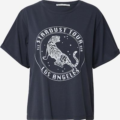 CATWALK JUNKIE T-Shirt in dunkelblau / weiß, Produktansicht