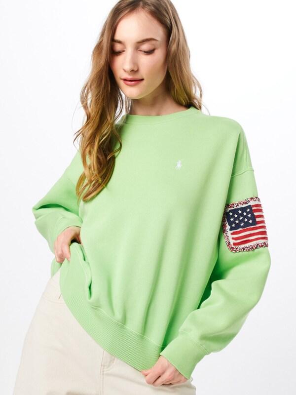 Ralph Lauren Polo Sweatshirt In Wit BlauwGroen Rood lTcJ31FK