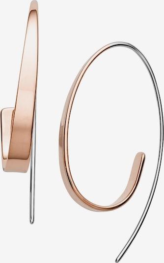 SKAGEN Ohrhänger in rosegold / silber, Produktansicht