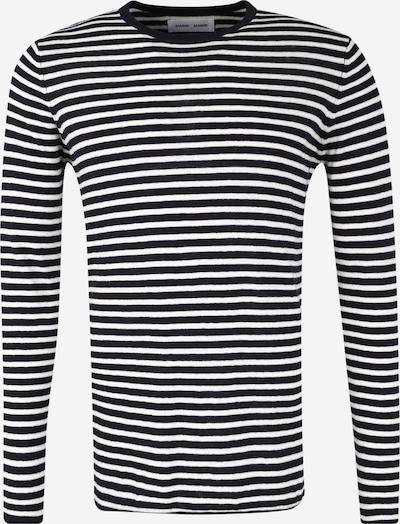 Samsoe Samsoe Tričko 'Ernie o-n 5997' - čierna / biela, Produkt