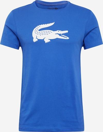 LACOSTE Shirt in de kleur Blauw / Wit, Productweergave