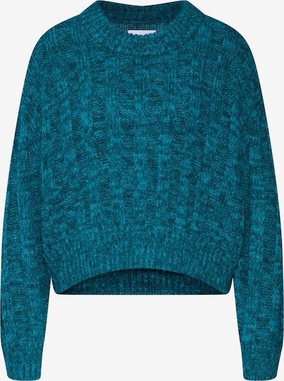 Another Label Pullover 'Zadkine' in blau / petrol, Produktansicht