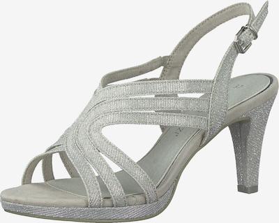 MARCO TOZZI Páskové sandály - stříbrná, Produkt
