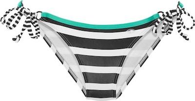 KangaROOS Bikinibroekje in de kleur Jade groen / Zwart / Wit, Productweergave
