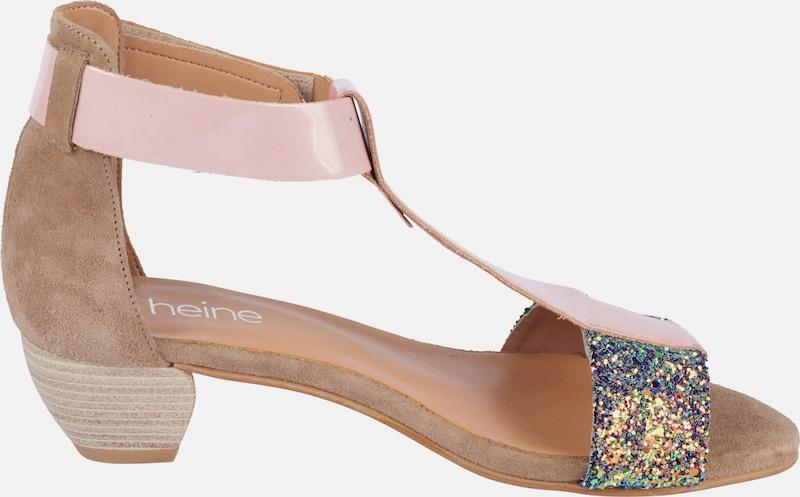 heine | Sandalette mit mit mit Glitter 696696