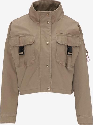 MYMO Cropped Jacke in braun, Produktansicht