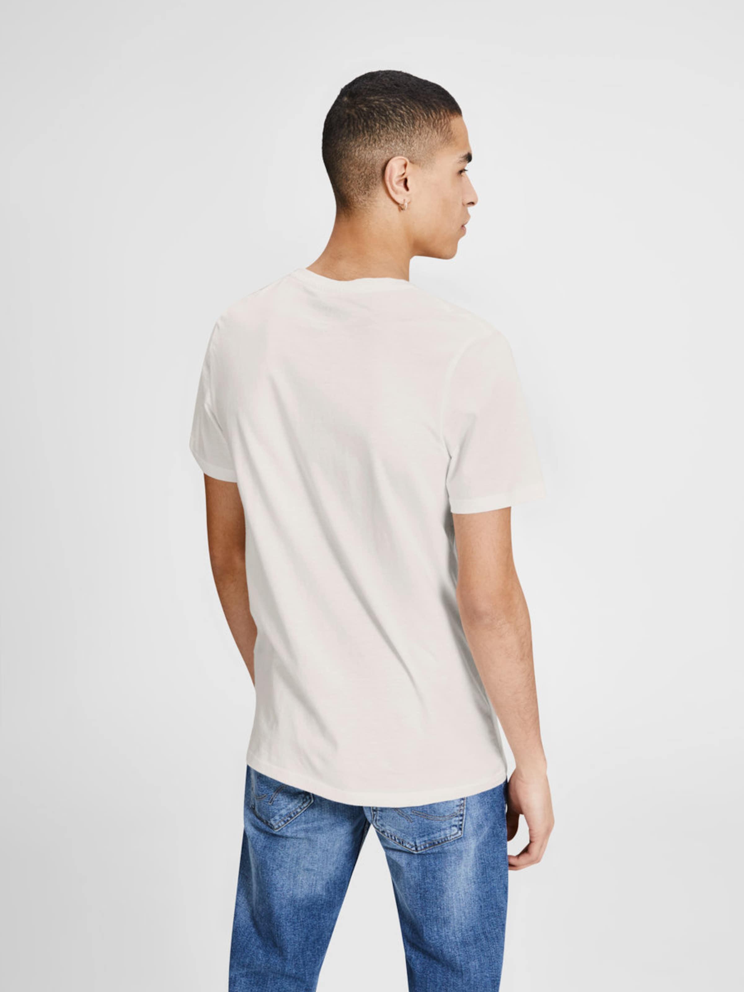 JACK & JONES Print T-Shirt Freies Verschiffen Hohe Qualität Bulk-Design Freies Verschiffen Rabatt 6YUId