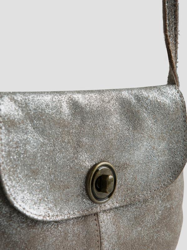 PIECES Mini Bag aus Leder 'Totally Royal Party'