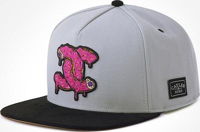 Cayler & Sons Cap ' Munchel Cap ' in pink / schwarz / weiß, Produktansicht