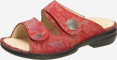 Finn Comfort Pantolette in mischfarben / rot, Produktansicht