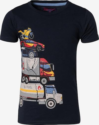 LEMON BERET T-Shirt in navy / pastellblau / gelb / grau / rot, Produktansicht