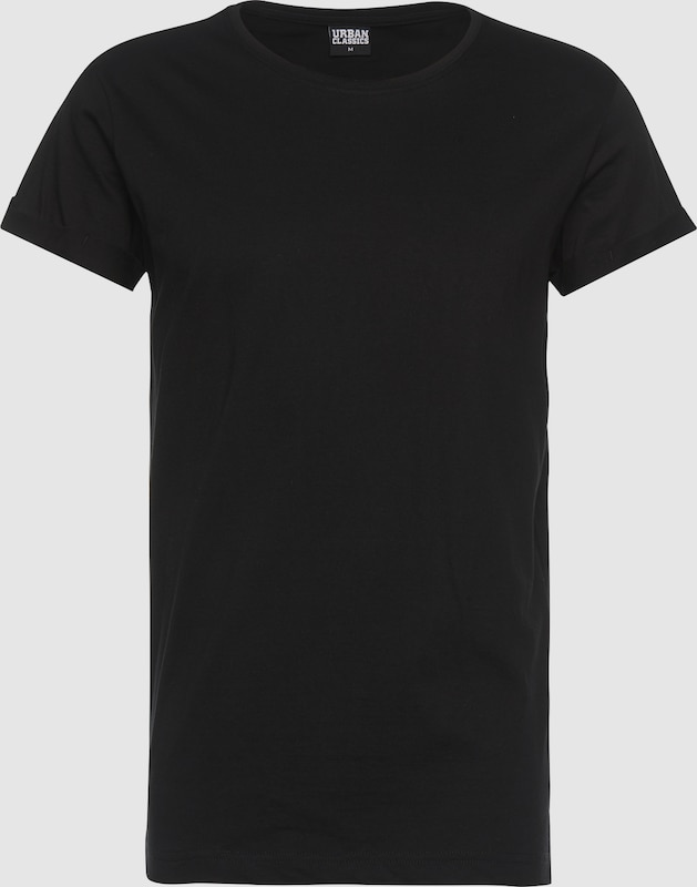 Urban Classics Shirt 'Turnup Tee'