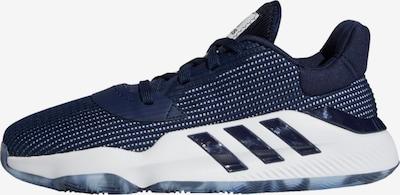 ADIDAS PERFORMANCE Sportschuh in blau / weiß, Produktansicht