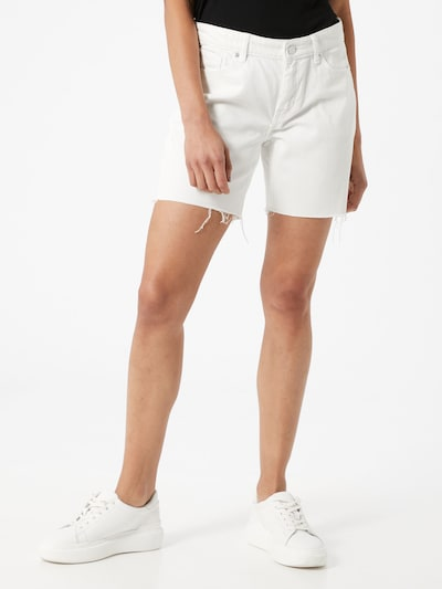 s.Oliver Shorts 'Karolin' in white denim, Modelansicht