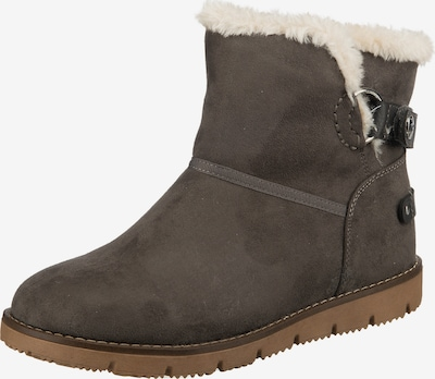 TOM TAILOR Snowboots in taupe, Produktansicht