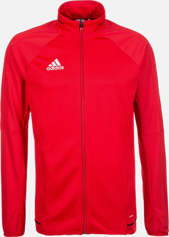 ADIDAS PERFORMANCE Trainingsjacke 'Tiro 17' in rot, Produktansicht