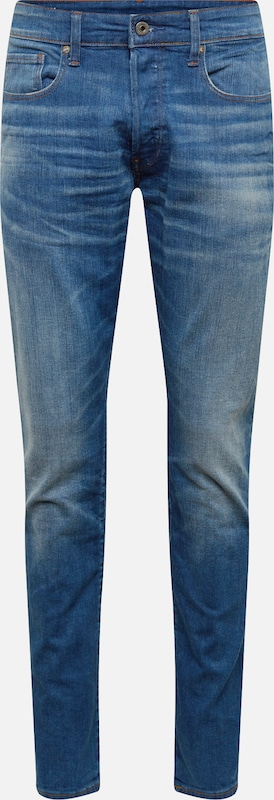 En Bleu G Tapered' star Denim Raw '3301 Jean WE29YeDHI