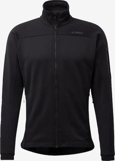 adidas Terrex Fleecejacke  'Stockhorn' in schwarz, Produktansicht