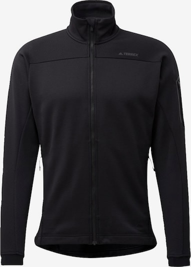 ADIDAS PERFORMANCE Fleecejacke  'TERREX Stockhorn' in schwarz, Produktansicht