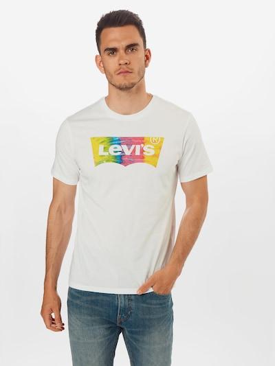 LEVI'S T-Shirt en mélange de couleurs / blanc: Vue de face
