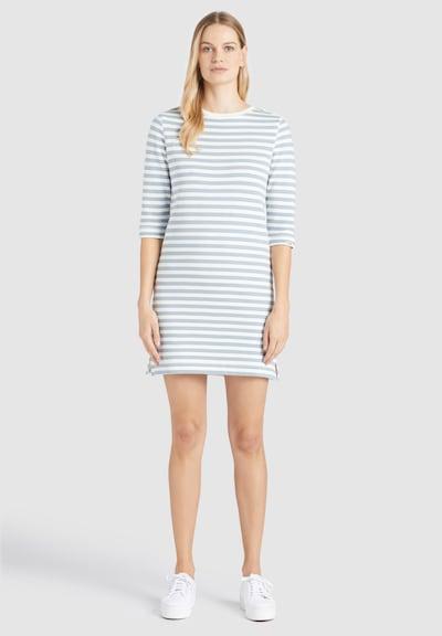 khujo Kleid 'ROYA' in hellblau / weiß, Modelansicht