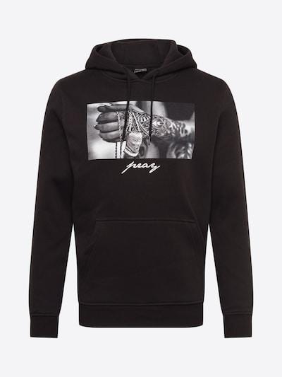 Mister Tee Hoody 'Pray 2.0' in schwarz, Produktansicht