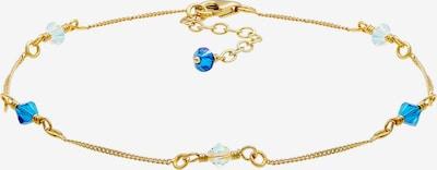 ELLI Fußschmuck, Strand, Basic in blau / gold, Produktansicht