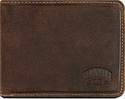 KLONDIKE 1896 Geldbörse in dunkelbraun, Produktansicht