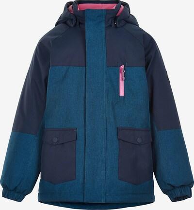 COLOR KIDS Between-Season Jacket in Blue / Dark blue / Pink, Item view