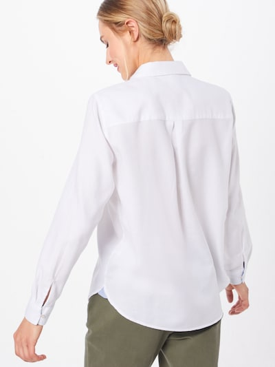 ESPRIT Blūze pieejami balts: Aizmugures skats